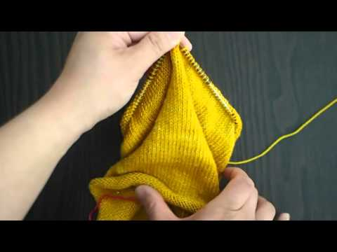 Circular Knitting - Working inside out