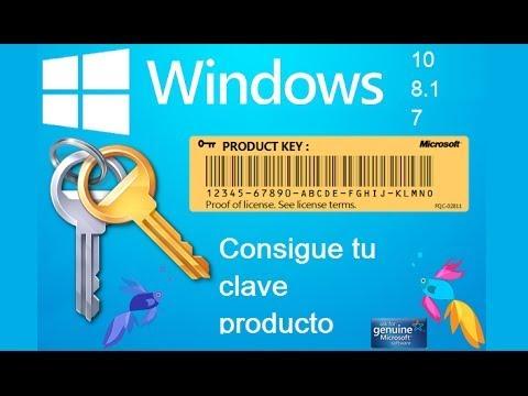 Obtener Clave de mi Windows Sin Necesidad de Programas | Tutorial