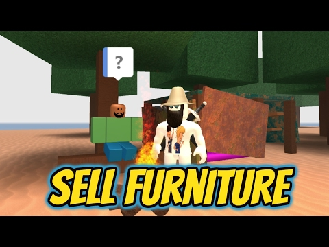 ROBLOX - How to sell your unwanted furniture in [Work at a Pizza Place]