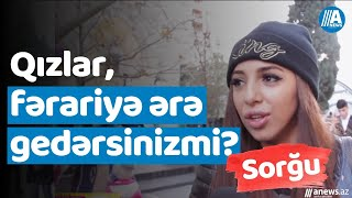 Qızlar: Fərariyə ərə gedərsinizmi?