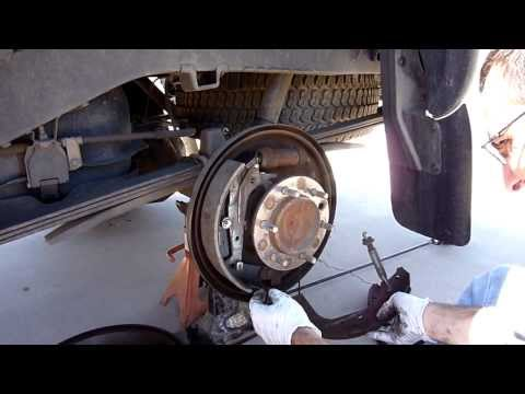 1999 Toyota Tacoma Prerunner Rear Drum Brakes Replaced