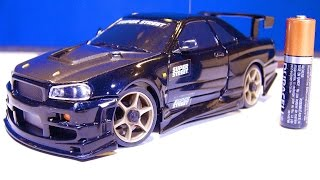 RC ADVENTURES - Nissan Skyline - I get my first XMods Car!  (Unboxing an RC Car from eBay)