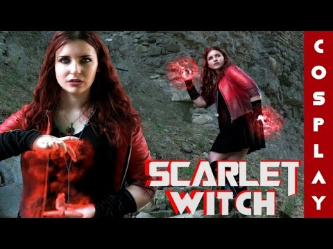 Scarlet Witch Costume DIY