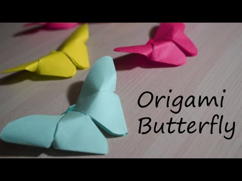 DIY: How to make Origami Butterfly | Paper Folding | Origami Instructions