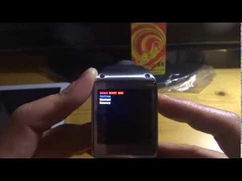 Samsung Galaxy Gear SM-V700 Smartwatch Recovery mode