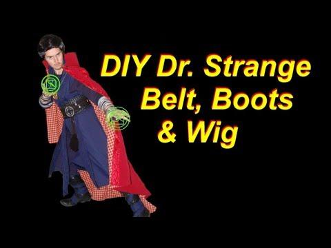 Dr. Strange Cosplay Tutorial 5: Belt, Boots, Wig