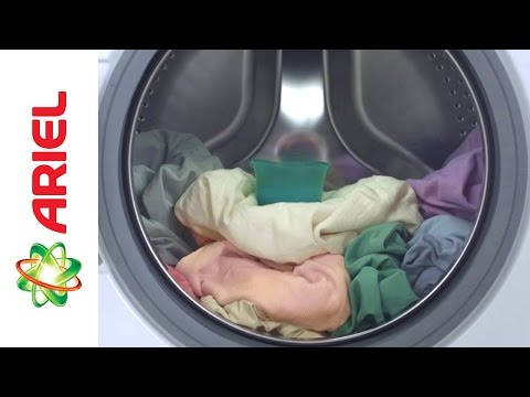 How to Dose Liquid Detergent in Front Load Machines - Ariel