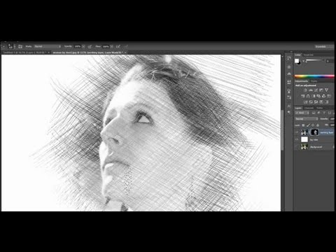Pencil Drawing (Sketch Effect) - Photoshop Tutorial