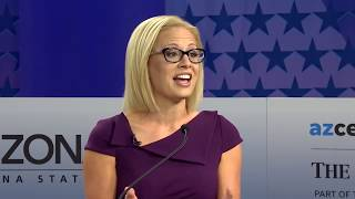 Martha McSally and Kyrsten Sinema debate for U.S. Senate seat in Arizona (full debate)