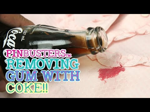 How to Get Gum Out Of Hair With Coke // DOES THIS REALLY WORK?
