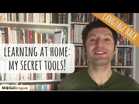 Learning a foreign language at home: my 4 secret tools (Language Hack n. 4)