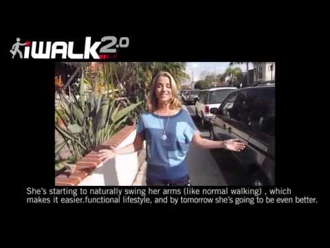First Time Using iWALK2.0 - Kristi takes her first steps on the iWALK2.0 Hands Free Crutch