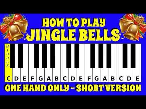 How to Play Jingle Bells | Piano / Keyboard Tutorial | Letter Notes | Easy Tutorial