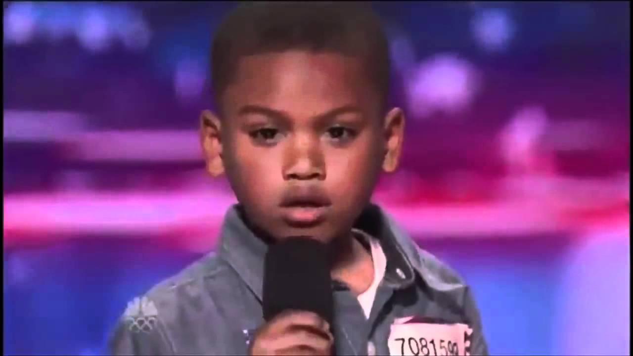 Howard Stern Makes 7-year-old Rapper Cry on America's Got Talent | @kollegekidd