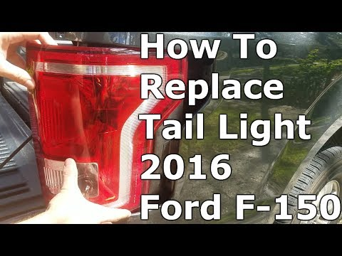 How To Change Brake Light Bulb On 2016 Ford F150