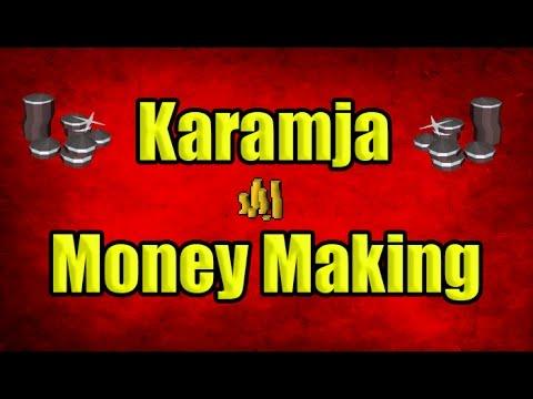 2 Different Money Making Methods On Karamja OSRS 2007