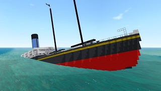 From the Depths! Sinking the SS Californian (Minecraft Design)
