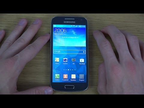 Samsung Galaxy S4 Mini Official Android 4.4.2 KitKat - First 4K Look