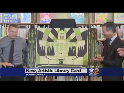 Los Angeles Public Library New Card