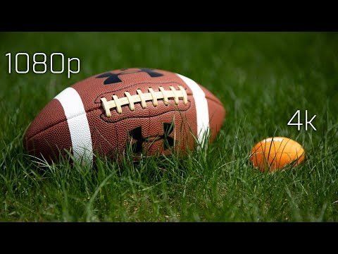 4k, 1080, and Football