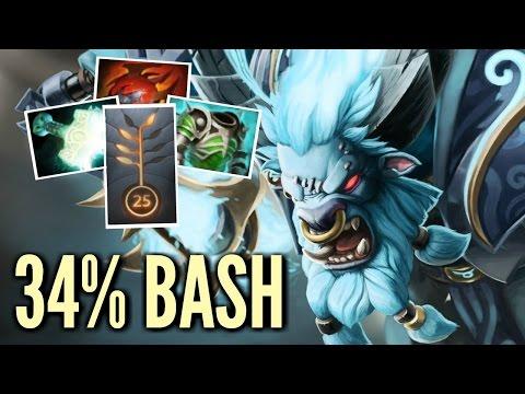 Pro Spirit Breaker Carry 34% Bash by MidOne Crazy MMR 7.00 Gameplay Dota 2
