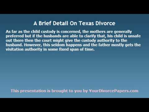 What Couples Often Expect From Texas Divorce