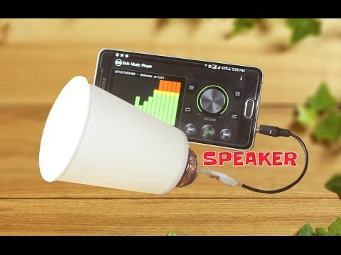 How to Make Speaker at Home   Easy Way