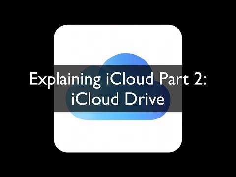 Explaining iCloud Part 2: iCloud Drive