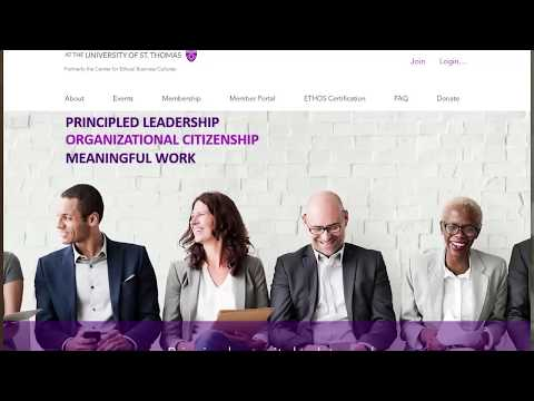 Center for Ethical Organizations Principled Leadership Awards