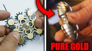 Top 5 MOST EXPENSIVE FIDGET SPINNERS!