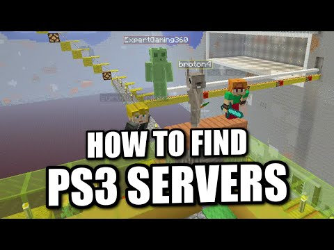 Minecraft PS4 - HOW TO FIND SERVERS - How To - Tutorial ( PS3 / XBOX )