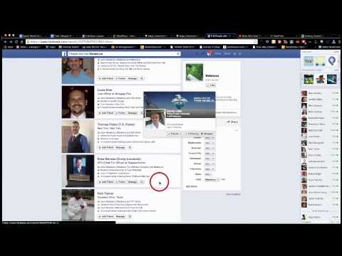 Facebook Graph search Mutual Friends