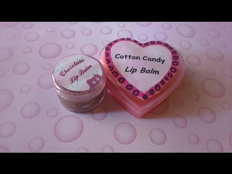 DIY: Lip Balm/ Gloss (Pink and Chocolate )