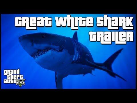GTA 5 Wildlife Documentary | Great White Shark Trailer