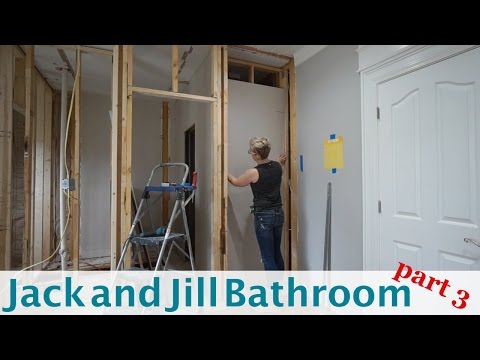 Jack and Jill Bathroom (part 3)