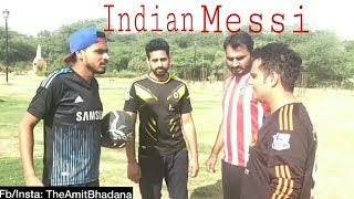 Amit bhadana want to become Messi./soo funny video must watch / created by news4028.