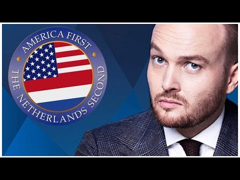 America First - The Netherlands Second - Donald Trump Zondag met Lubach