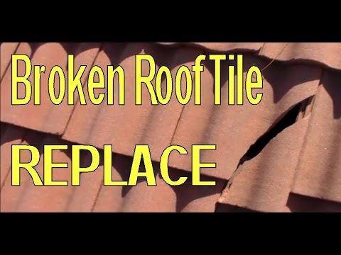 Replace Broken Concrete Roofing Tile Walkthrough