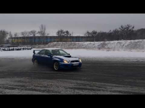 Subaru WRX STI Drift Snow