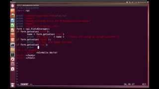 Python Advanced Tutorial 7 - CGI Programming