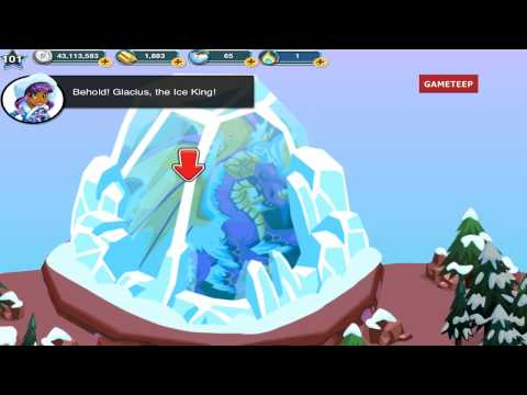 How to breed Ice Age Dragon in Dragon Story! & Arctic Isles Overview