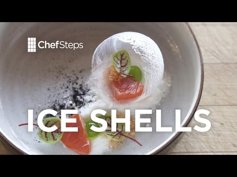 How to Make Paper-Thin Ice Shells With Liquid Nitrogen and Water Balloons
