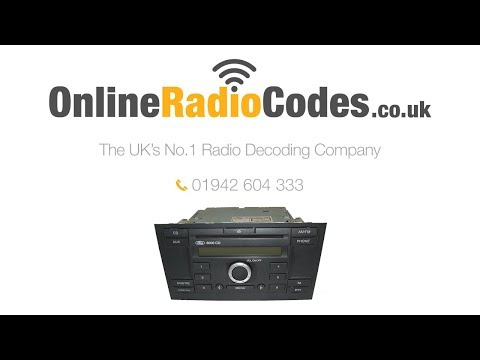 🚗  Ford 6000 CD Radio Code Stereo Unlock Instantly Using Radio Serial
