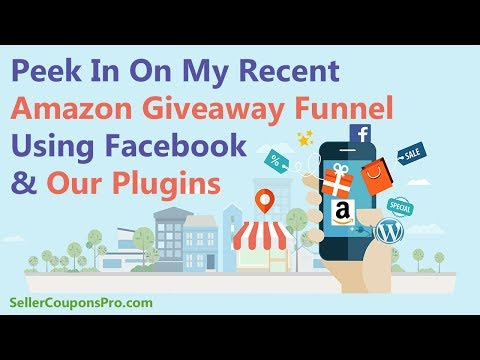 Distribute Amazon Coupon Codes In A Facebook Ads Funnel Using Seller Coupons Pro