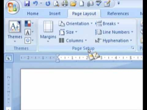 how to turn a page landscape on microsoft word
