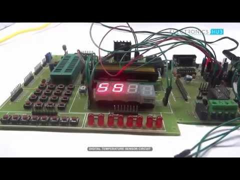 Digital Temperature Sensor using Microcontroller