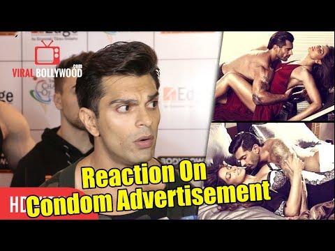 Karan SIngh Grover Reaction On Condom Advertisement With Bipasha Basu