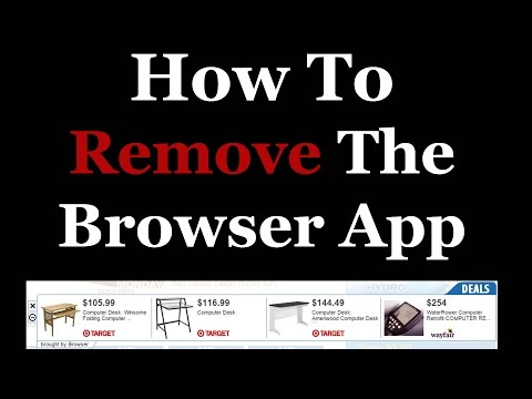 How To Completely Remove The Browser App From Windows 7