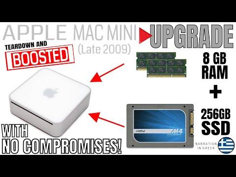 Apple Mac mini (Late 2009)-Upgrade to 8GB RAM/256GB SSD/Mavericks 10.9.1 (GR)