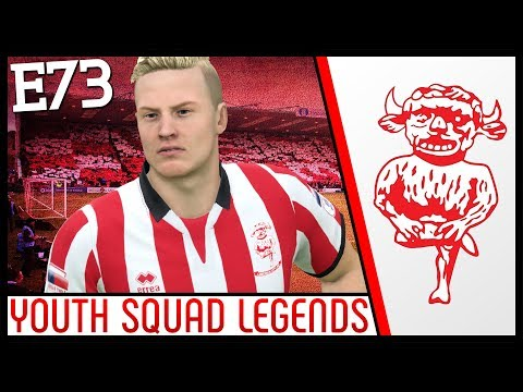 LINCOLN ARE BACK!!! - Lincoln City | FIFA 18 Career Mode (Ep 73) Youth Academy | YOUTH SQUAD LEGENDS